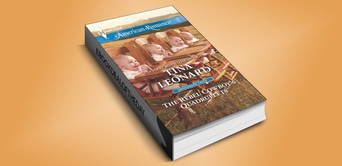 western contemporary romance ebook The Rebel Cowboy's Quadruplets by Tina Leonard