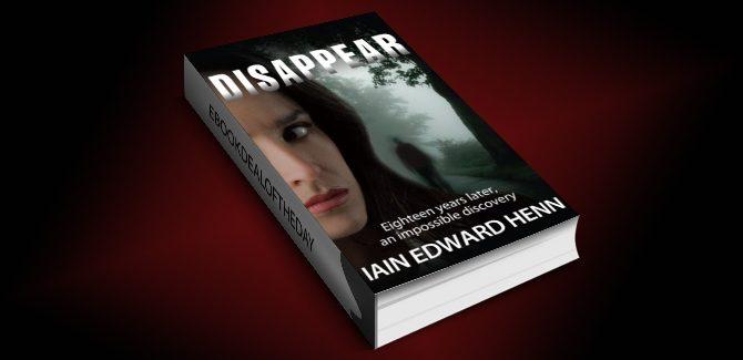 msytery, thriller & suspense ebook Disappear by Iain Edward Henn