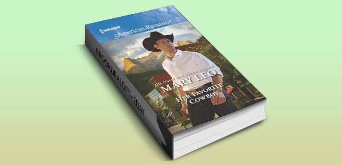 contemporary romance ebook Her Favorite Cowboy (Harlequin American Romance) by Mary Leo