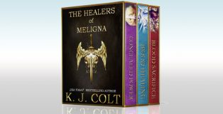 "epic fantasy ebook ""The Healers of Meligna Series Boxed Set (Books 1,2,3)"" by K. J. Colt"