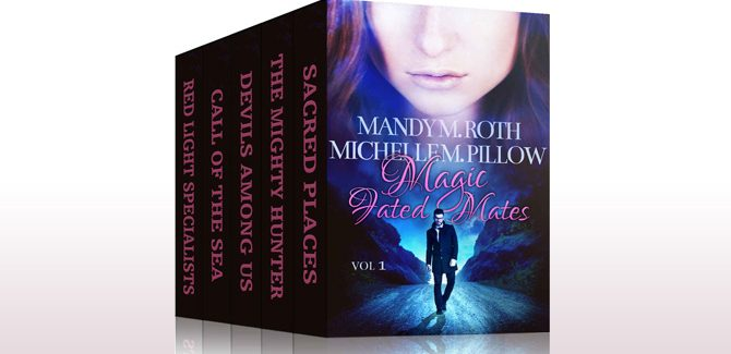 paranormal romance box set Magic Fated Mates: Box Set by Mandy M. Roth, Michelle M. Pillow