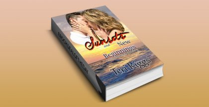 "contemporary romance ebook ""Sunsets and New Beginnings (A Heaven's Beach Love Story Book 1)"" by Teri Riggs"