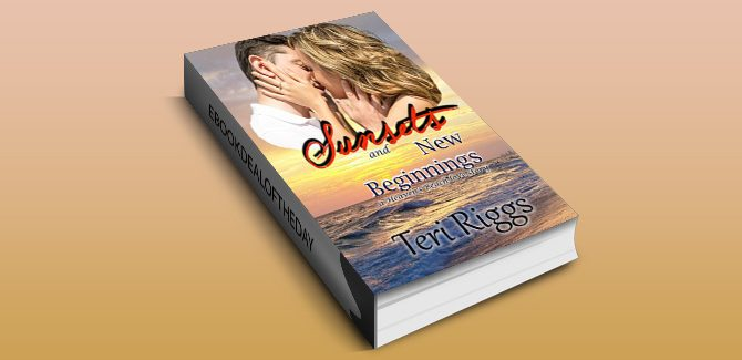 contemporary romance ebook Sunsets and New Beginnings (A Heaven's Beach Love Story Book 1) by Teri Riggs
