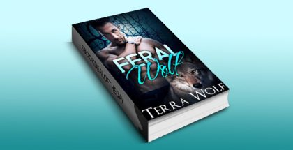 "paranoraml shifter romance ebook ""Feral Wolf (The Wolf Wanderers Book 2)"" by Terra Wolf"
