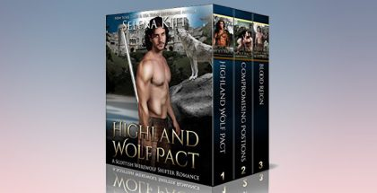 "Scottish hiistorical paranormal romance ""Highland Wolf Pact Boxed Set: (Scottish Wolf Shifter Romance Bundle)"" by Selena Kitt"