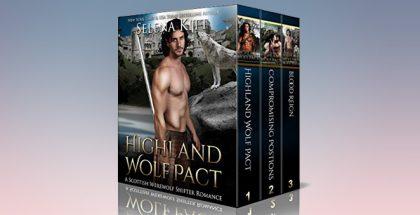 """Scottish hiistorical paranormal romance """"Highland Wolf Pact Boxed Set: (Scottish Wolf Shifter Romance Bundle)"""" by Selena Kitt"""