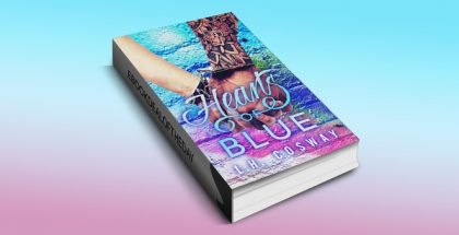 "contemporary romance ebook ""Hearts of Blue"" by L.H. Cosway, available for kindle, nook & ibook"