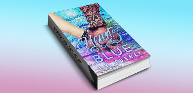 contemporary romance ebook Hearts of Blue by L.H. Cosway, available for kindle, nook & ibook