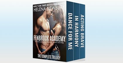 "new adult romance box set ""Fenbrook Academy - The Complete Trilogy"" by Helena Newbury"