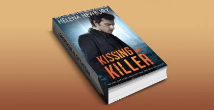 "new adult romantic suspense ebook ""Kissing My Killer"" by Helena Newbury"