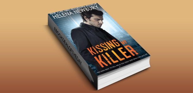 new adult romantic suspense ebook Kissing My Killer by Helena Newbury