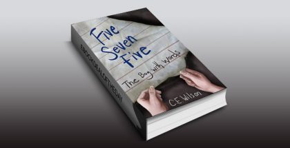 """young adult ebook """" Five Seven Five (The Boy With Words Book 1)"""" by C.E"""