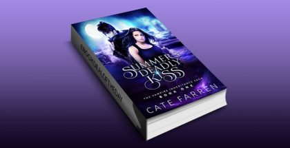 "new adult paranormal romance ebook ""Summer's Deadly Kiss (The Vampire Inheritance Saga Book 1)"" by Cate Farren"