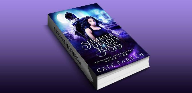 new adult paranormal romance ebook Summer's Deadly Kiss (The Vampire Inheritance Saga Book 1) by Cate Farren