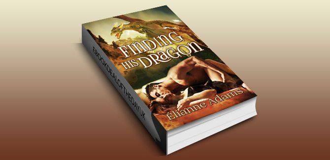 paranormal romance fantasy ebook Finding His Dragon (Dragon Blood Book 3) by Elianne Adams