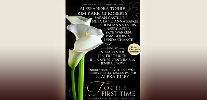 contemporary romance boxed set For the First Time: Twenty-One Brand New Stories of First Love by Various Authors