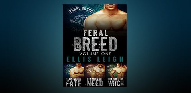 paranormal romance boxed set The Feral Breed Series Bundle: Books 1-3 by Ellis Leigh