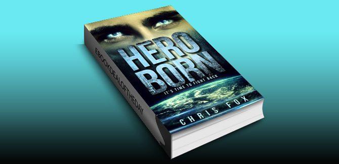 paranormal fantasy adventure ebook Hero Born: Project Solaris by Chris Fox