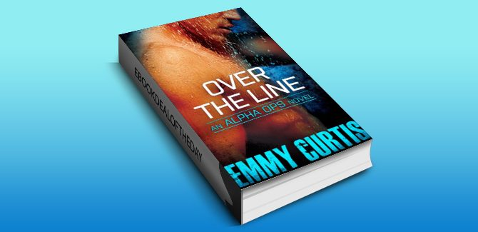 contemporary romantic suspense ebook Over the Line (Alpha Ops Book 2) by Emmy Curtis