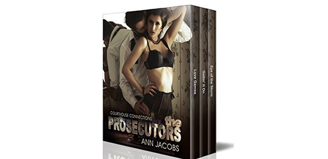 romance ebook The Prosecutors: A three-book boxed set (Courthouse Connections 3) by Ann Jacobs