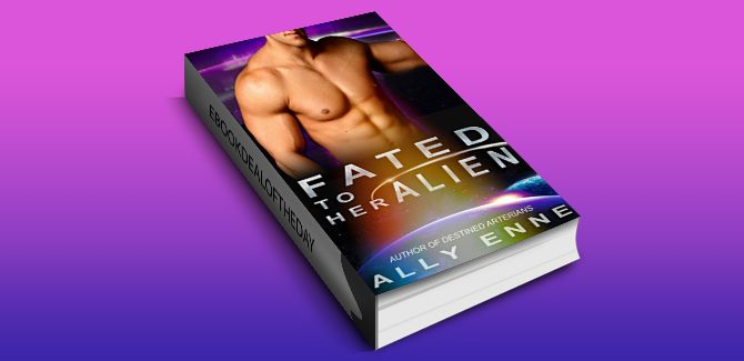 scifi romance ebook Fated to her Alien (Destined Arterians Book 3) by Ally Enne