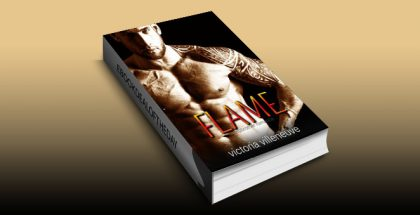 "contemporary romance ebook ""Flame (A Stepbrother Romance)"" by Victoria Villeneuve"