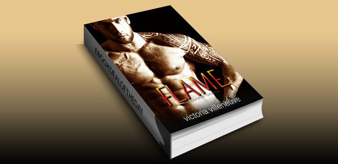 contemporary romance ebook Flame (A Stepbrother Romance) by Victoria Villeneuve