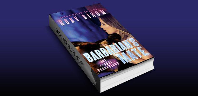 scifi romance ebook Barbarian's Mate: A SciFi Alien Romance (Ice Planet Barbarians Book 7) by Ruby Dixon