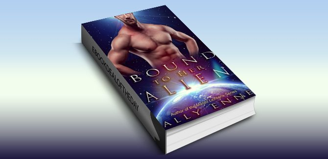 scifi paranormal romance ebook Bound to her Alien (Mated Lichtens Book 3) by Ally Enne
