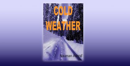 "crime fiction shortstory ebook ""Cold Weather: Short story with action and suspense"" by Nauman Ashraf"