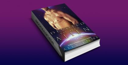 "scifi romance ebook""Devoted to her Alien (Mated Lichtens Book 2)"" by Ally Enne"