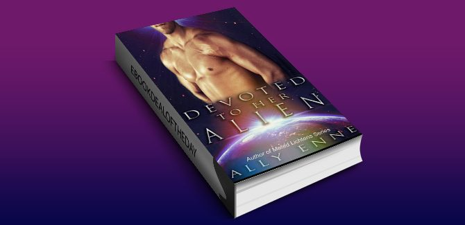 scifi romance ebookDevoted to her Alien (Mated Lichtens Book 2) by Ally Enne