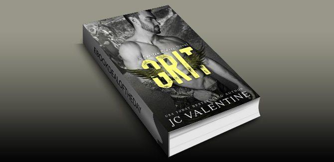 crime drama women's fiction ebook GRIT: A Spartan Riders Novel by J.C. Valentine