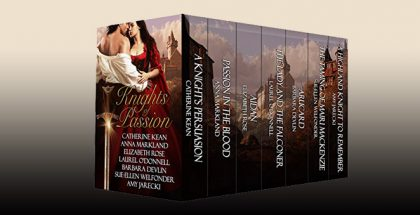 "historical highlander medieval boxed set ""Knights of Passion"" by Catherine Kean"