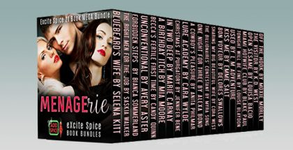 "romance boxedset anthologies"" Menagerie: 21 Book MEGA Romance Bundle (Excite Spice Boxed Sets)"" by Selena Kitt & many more"