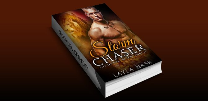 paranormal romance ebook Storm Chaser (City Shifters: the Pride Book 3) by Layla Nash