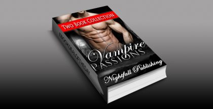 "contemporary bbw paranormal romance ebook ""Vampire Passions"" by Nightfall Publishing"