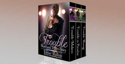 "nalit romance boxed ""Trouble Boxed Set (New Adult Rock Star Romance): Katie and Tyler's Story (Trouble Boxed Sets Book 2)"" by Emme Rollins"