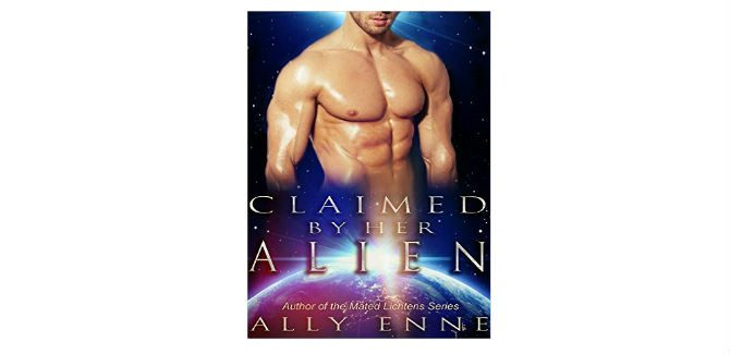 scifi romance kindle book Claimed by her Alien (Mated Lichtens Book 4) by Ally Enne