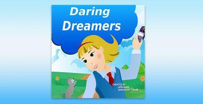 "children's fiction ebook ""Daring Dreamers"" by Ofri Barr & Shalhevet Zohar"