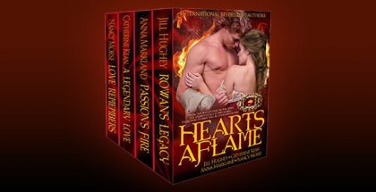 "scottish medieval historical romance ebook ""HEARTS AFLAME"" by Nancy Morse"
