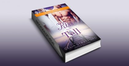 """new adult lgbt romance ebook """"Kiss and Tell (Coastal College Players Book 3)"""" by Celia Stratford"""