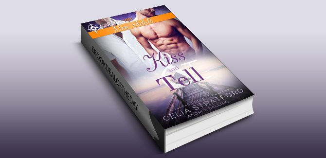 new adult lgbt romance ebook Kiss and Tell (Coastal College Players Book 3) by Celia Stratford
