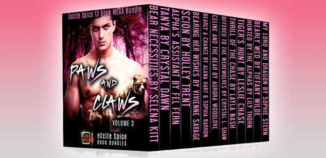 paranormal romance anthologies Paws and Claws (Volume 3) by Selena Kitt