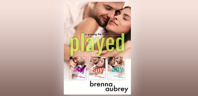 newadult romance ebook Played: A Gaming The System Box Set by Brenna Aubrey