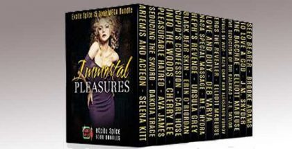 "paranormal romance anthologies ""Immortal Pleasures: 15 Book MEGA Bundle (Excite Spice Boxed Sets)"" by Selena Kitt + More"