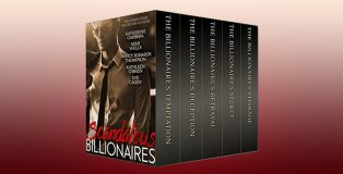 "contemporary romance anthologies boxed set ""Scandalous Billionaires"" by Katherine Garbera etc"