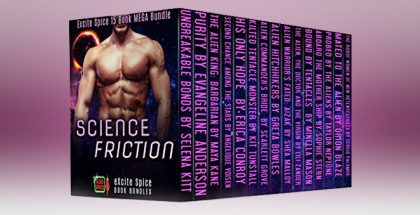 "scifi romancei boxset ""Science Friction: 15 Book MEGA Sci-Fi Romance Bundle (Excite Spice Boxed Sets)"" by Selena Kitt"