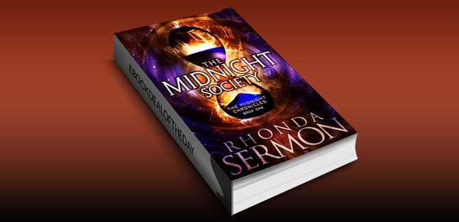ya scifi timetravel ebook The Midnight Society (The Midnight Chronicles Book 1) by Rhonda Sermon