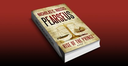"scifi & fantasy ebook ""Pearseus, Rise of the Prince, book 1"" by Nicholas C. Rossis"